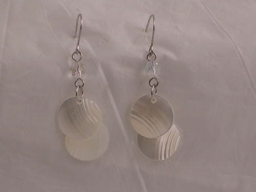 Shell Maille Earring